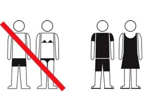 О введении штрафов за появление в общественных местах Абхазии в купальниках и плавках