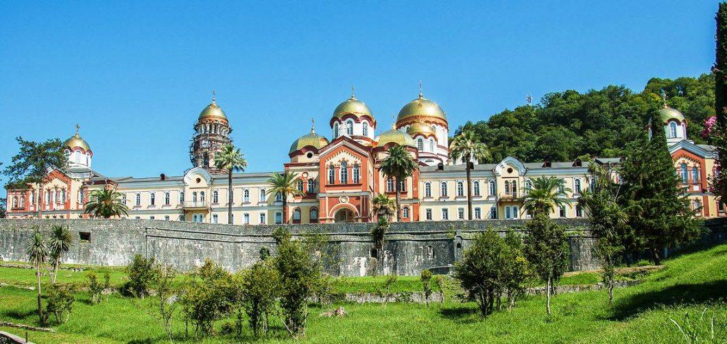 Картинки по запросу Ново-Афонский монастырь.