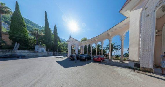 Виртуальная 3D панорама. Гагрская колоннада (Гагра, Абхазия)