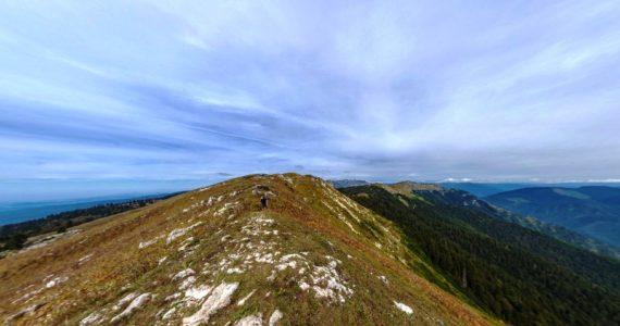 Виртуальная 3D панорама. Гора Мамзыщха (Абхазия)