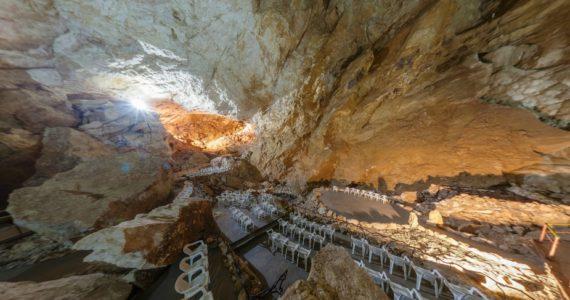 Виртуальная 3D панорама. Зал «Апсар». Новоафонская пещера