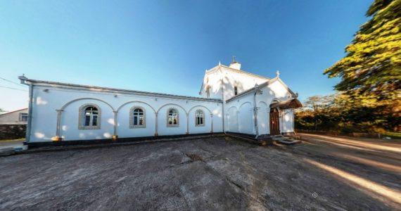 Виртуальная 3D панорама. Илорский храм Святого Георгия Победоносца
