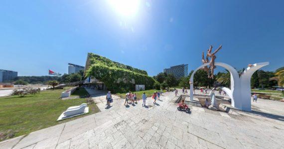 Виртуальная 3D панорама. Пицунда. Набережная
