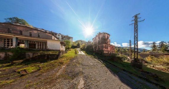 Виртуальная 3D панорама. Джантуха. Поселок-призрак Абхазии