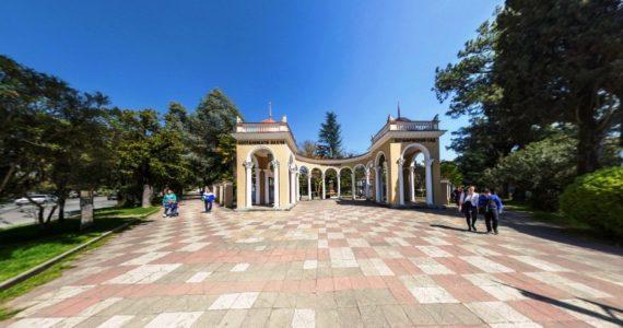 Виртуальная 3D панорама. Сухумский ботанический сад