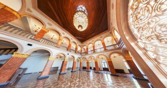 Виртуальная 3D панорама. Сухум. Холл театра драмы им. С. Чанба