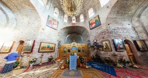 Виртуальная 3D панорама. Успенский собор Драндского монастыря