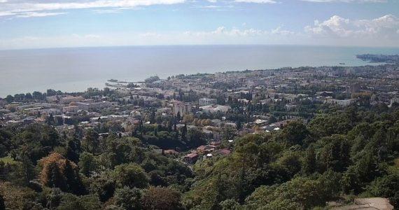 Вебкамера. Сухум. Панорама города