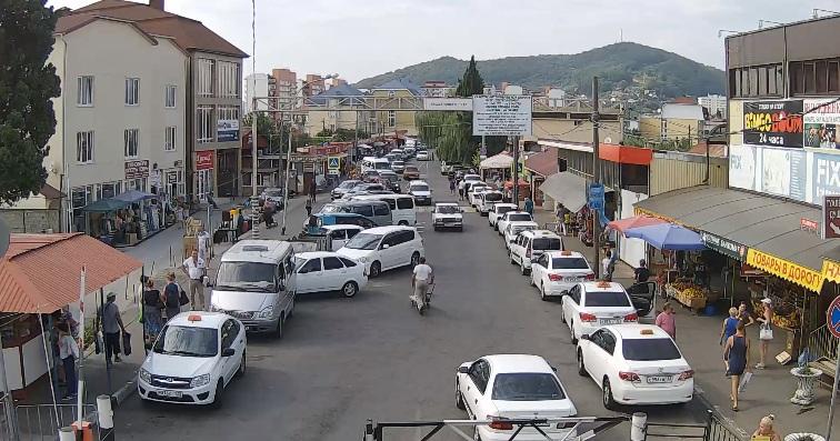 Веб-камера МАПП «Адлер» - пешеходный переход в Абхазию со стороны России