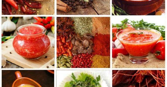 Рецепты соусов и приправ по-абхазски