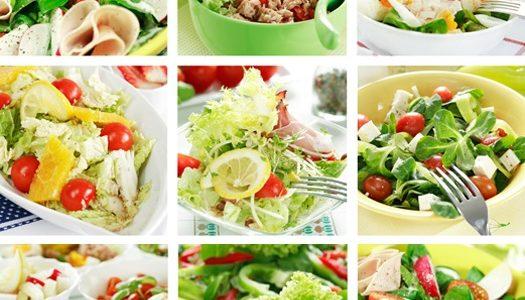 Салаты и блюда из овощей по-абхазски