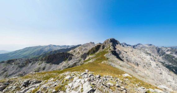 Виртуальная 3D панорама - гора Арбаика (Абхазия)