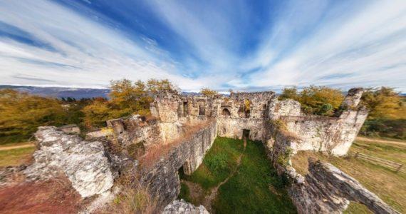 Виртуальная 3D панорама — дворец князей Чачба-Шервашидзе (Лыхны, Абхазия)