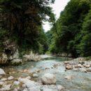 Хашупсинский каньон (Абхазия)
