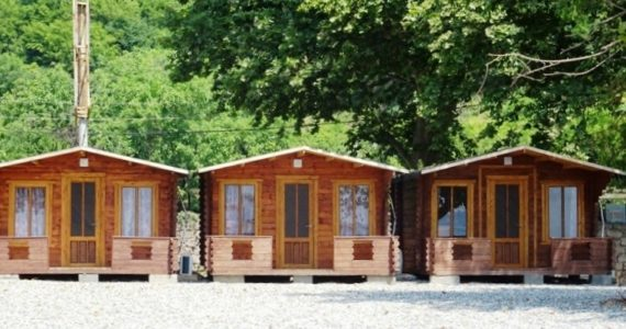 Гостевой дом «Три Тополя» Лдзаа ул. Рыбзаводская № 46