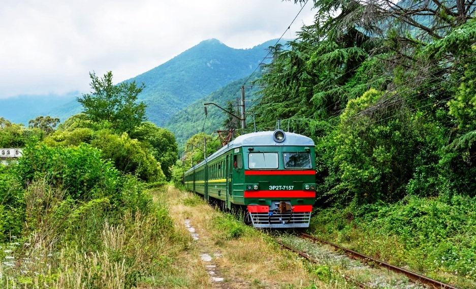 ЖД-сообщение между Россией и Абхазией возобновляется с 7.08.2020г.