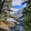 В горах Абхазии выпал первый снег