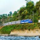 Фото-экскурсия по туристическому ретро-поезду «СОЧИ»