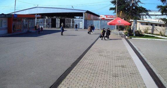 Вебкамера на КПП «ПСОУ» - пешеходный переход со стороны Абхазии