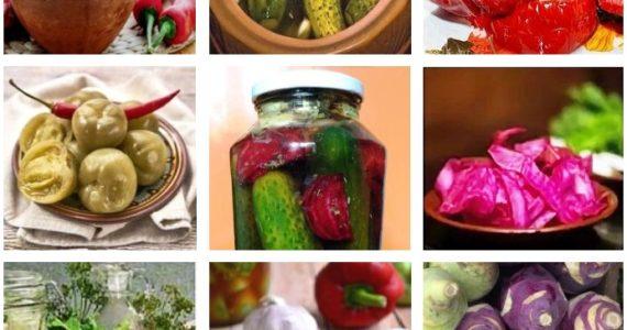Соления и заготовки по-абхазски