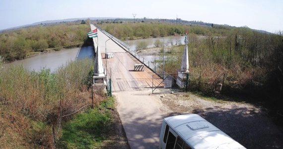 Вебкамера на границе Абхазии и Грузии