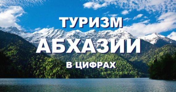 Туризм Абхазии в цифре