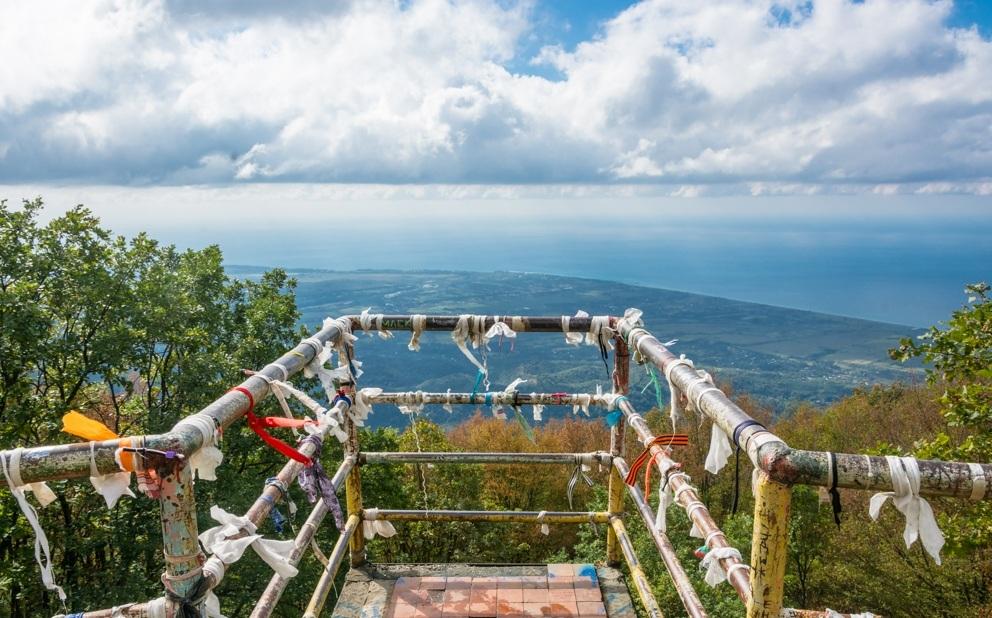 Вторая смотровая площадка Гагры (Абхазия)